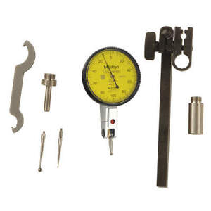 Mitutoyo Dial Test Indicator Set hori 0 To 0 2mm 513 405 10t