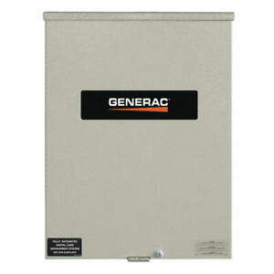Generac Automatic Transfer Switch 240v 20 In H Rtsc100a3 Gray