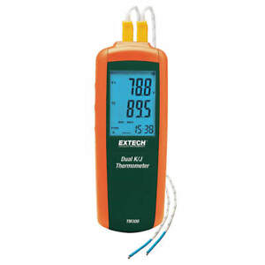 Extech Thermocouple Thermometer 2 In type J K Tm300