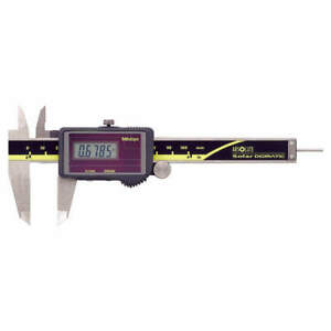 Mitutoyo Absolute Solar Digital Caliper 0 To 4 In 500 473