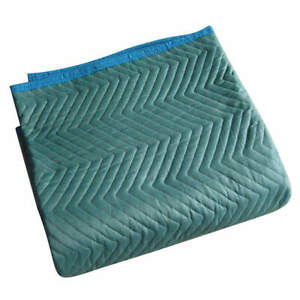 Grainger Cotton poly Woven Quilted Moving Pad l72xw80in green pk6 2nkt2 Green