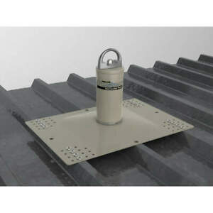 Honeywell Stainless Steel aluminum Roof Anchor Post 18 In L 8 3 5 In D X10010
