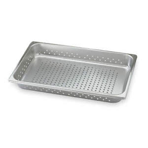 Vollrath Stainless Steel Perforated Pan full size 21 Qt 30063