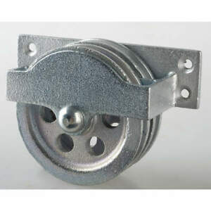 Peerless Double Pulley Block sheave Od 3 1 4 In 3 120 30 86