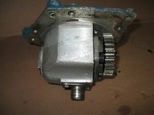 Ford 7700 Tractor Hydraulic Pump Housing
