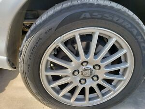 2000 01 02 03 04 2008 Jaguar X Type S Type 4pc 16 Rims Wheels Tires 205 55 R16
