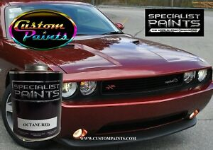 Gallon Kit Of Dodge Octane Red Paint Motorcycle Automotive Hok Ppg