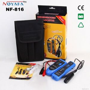 Underground Cable Wire Locator Tracker Lan With Earphone Nf816 Network Finder Ut