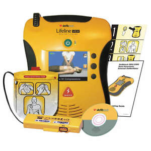Defibtech Lifeline View Semi automatic Aed Standard Package Dcf a2310rx