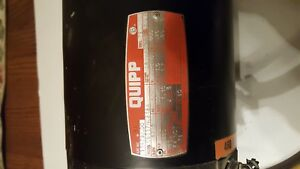 Quipp Motor Model No C6t17nc219a Rpm 1725 Hp 1 2 3 Phase