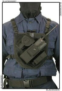 Radio Chest Harness Holster Cell Phones Walkie Talkie Pouch Pack Strap Vest New