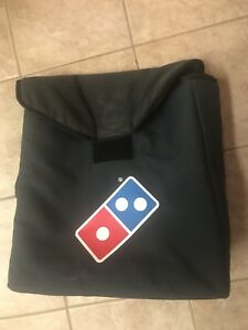 Dominoes Thermal Pizza Delivery Bag 18 X 20 X 6 read Description