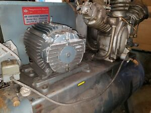 Ingersoll Rand 30t 10t 15 Hp Air Compressor 3 Cylinder 2 Stage 3 Phase