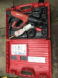 Hilti Dx 5 Powder Actuated Nail Gun W some Accessories Free Shipping