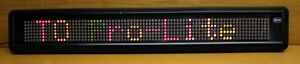 Pro Lite Led Display Sign Multi Color With Movement Effects Approx 3 X 4