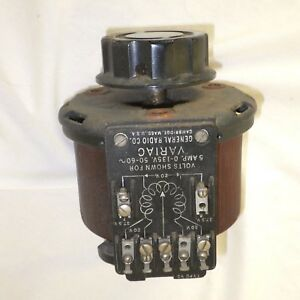 Vintage Gr General Radio Variac Type V5 0 135 Vac 5 Amps Used