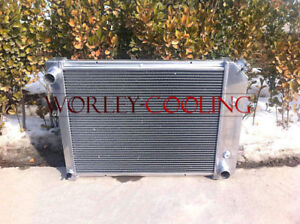 Full Aluminum Radiator For Chevy Nova Pro Series 68 69 70 71 72 73 74 Auto 3 Row