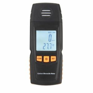 Lcd Digital Carbon Monoxide Meter High Precision Co Gas Tester Meter 0 1000ppm U