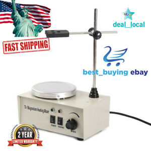 1000ml Laboratory Lab Magnetic Stirrer With Heating Plate Hotplate Mixer 78 1
