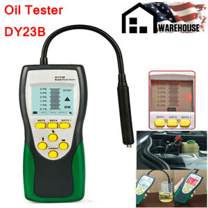 Brake Fluid Tester Oil Inspection 250mm Goose Neck Detector 2 2 Lcd Dot3 4 5