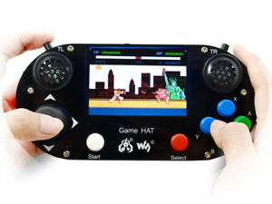 Waveshare Game Hat For Raspberry Pi 3 5inch Ips Screen 480 320 Resolution
