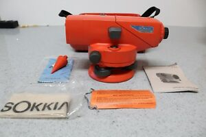 Sokkia E32 Automatic Level Transit Bundle W hard Case Free Shipping