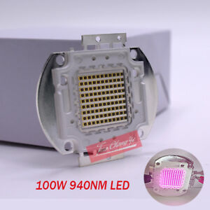 100w 940nm Ir 16 18v 3 15a Infrared Emitter Light Lamp For Night Vision Camera