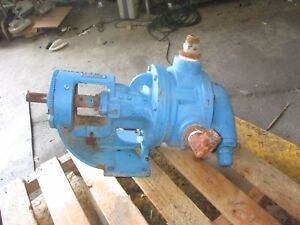 Viking L124a Iron Pump 726237jw Sn 11441711 Relief Valve Is Broke Used