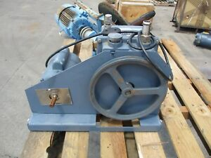 Welch Duoseal Vacuum Pump 1 2hp Motor Mod 1402 115 230volts 725225g Used