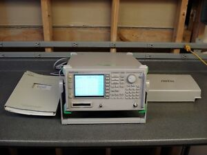 Anritsu Ms2668c Spectrum Analyzer 9khz 40ghz