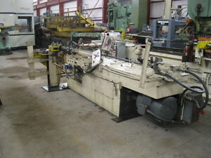 Tube Bender 3 1 2 Pines No 2 Horiz Mandrel Extractor Cw Rotation 1967