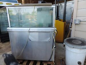 Lobster Tank Commercial sea Water 2 Available