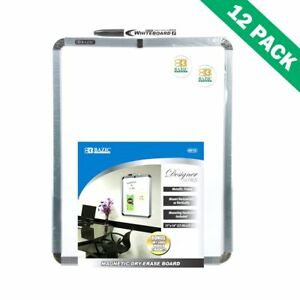 Dry Erase Board White Magnetic Dry Erase Boards Small With Marker Set Of 12