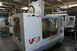 Haas Vf 3 Cnc Vertical Machining Center Side mount Toolchanger Coolant Thru