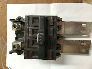 Wadsworth Circuit Main 200a Breakers 15a 20a 30a 40a 60a 100a Used