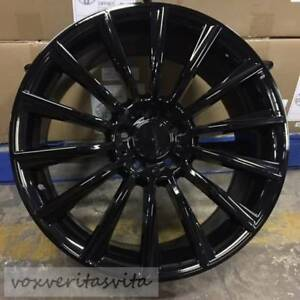 20 Gloss Black Amg S63 Style Wheels Rims Fits Mercedes Benz Cls500 Cls550 Cls55