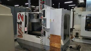 Used Haas Vf 2 Vertical Mill Machining Center 30x16 Vmc Gear Box P cool Rigid 96