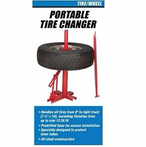 Tire Changer Mount And Change Tires On The Go With This Portable Tire Changer