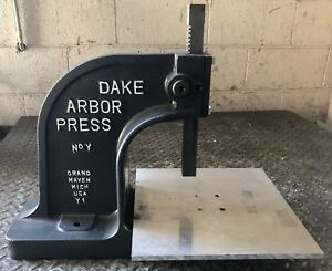 Single Lever Arbor Press 1 1 2 Ton No Y Laboratory Industrial