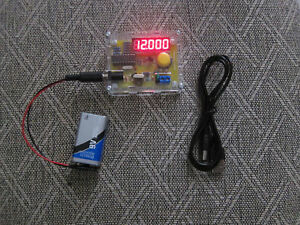 Crystal Oscillator Frequency Counter Meter Tester 12khz 40mhz Usa Seller