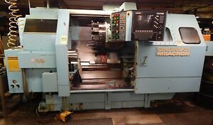 Cincinnati Milacron 1210 10u40 Cinturn Cnc Turning Center Live Tooling C axis
