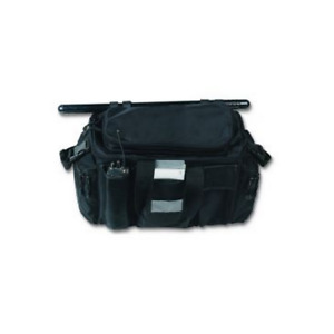 Strong Leather 90700 Black Nylon Deluxe Police Gear Bag