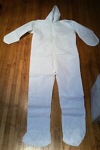 Posi wear Style 3709l Tyvek Coverall Suit Size L Box Of 25 New Never Worn