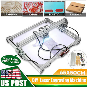 50x65cm Laser Engraving Engraver Cutting Frame Motor Kit 12v For Laser