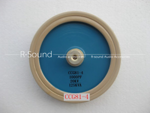 1pc Ccg81 4 1000pf 20kv 125kva High Voltage Ceramic Capacitor