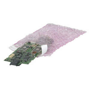 Grainger Approved Anti static Bubble Bag 11 1 2 In l pk350 39uk82 Pink