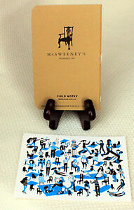 Field Notes Mcsweeney s Edition Notebook W thank You Card lmtd Edition Of 500