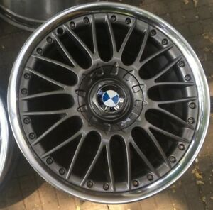 Bmw Genuine Wheels Bbs Style 101 Staggered 8j 8 5j X 18 2 Piece Rims
