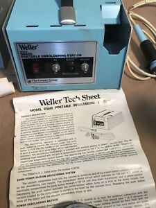 Weller Ds600 Portable Desoldering Station