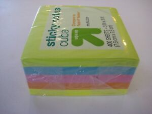 Sticky Notes 3 X 3 400 Sheets 5 Packs Multicolor Bright Florescent Colors